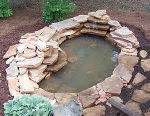 1000 images about building a backyard pond with florida for Small pond construction