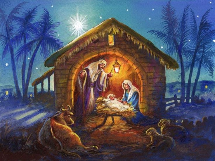 Christian Christmas Nativity Scene Clip Art - Bing images  Christmas nativity scene, Christmas