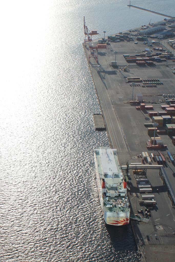 Ferry Terminal of Osaka South Port, Suminoe, Osaka