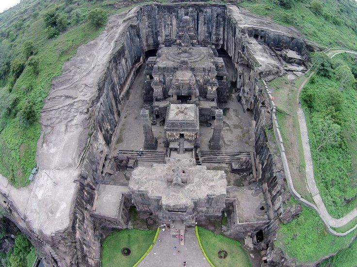 Ancient Kailasa Temple exposed: 60 Mind-bending images of a temple carved out of a mountain | Ancient Code