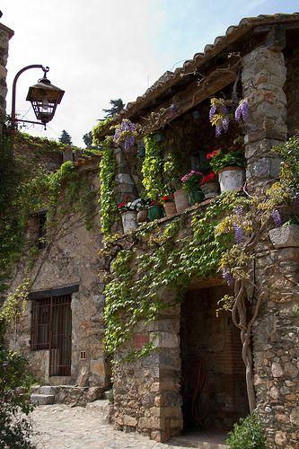 Medieval Village ~ Castelnou, Pyrénées Orientales France