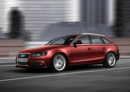 2009 Audi A4 Avant. Yes, I have slight infatuation for wagons. :)