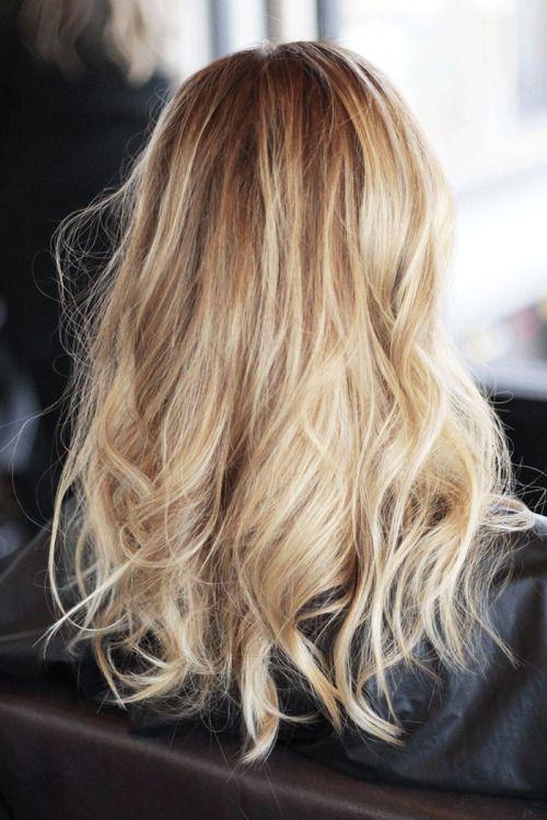 blonde + hair color