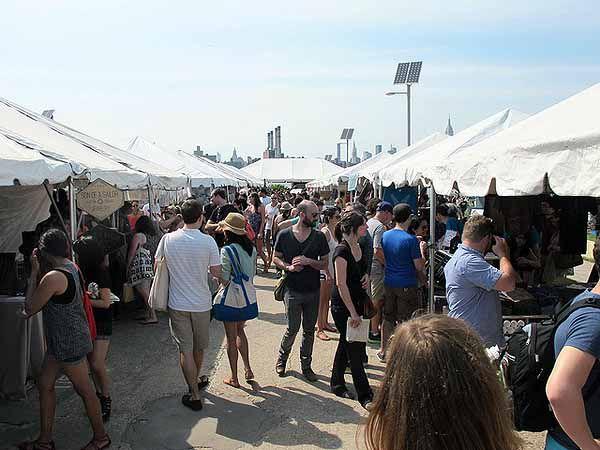 Renegade craft fair  50 Kent, brooklyn NY