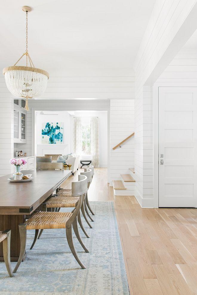 White Oak Hardwood Dining Room With Light White Oak Hardwood Floor Hardwood Flooring Wo Living Room Wood Floor White Oak Hardwood Floors Wood Floor Dining Room