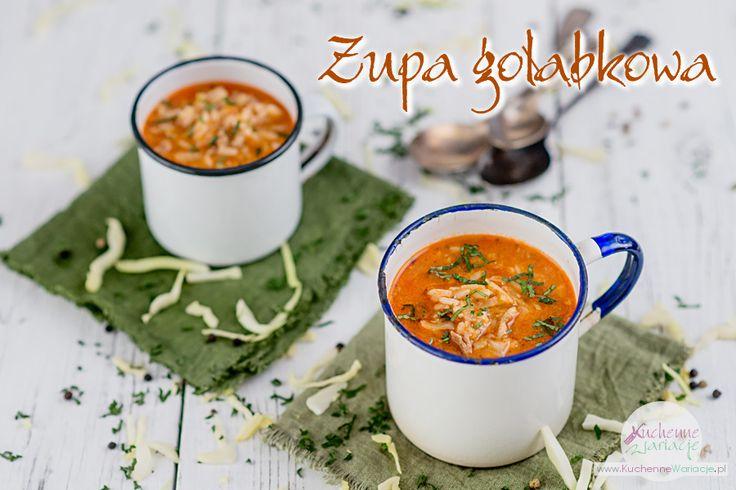 Zupa gołąbkowa | Bezglutenowe Kuchenne Wariacje