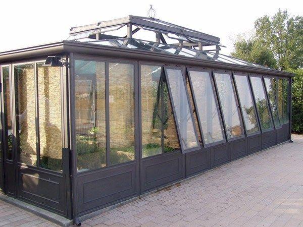Giardino d'inverno in ferro e vetro GIARDINO D' INVERNO IN FERRO - CAGIS