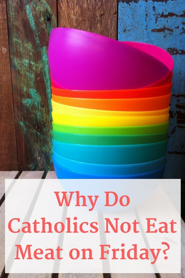 An easy yet in-depth look at why Catholics abstain from meat on Fridays, especially during Lent. #catholic #lent #lentdevotional