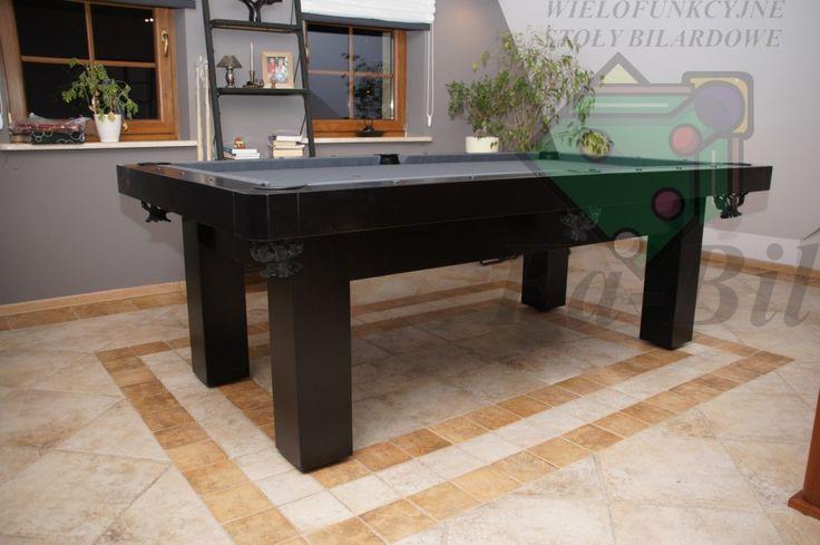 Zdjęcia stołu Epsilon, stół bilardowy z litego drewna