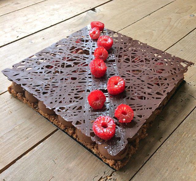 J'en reste baba: Fantastik chocolat, framboise de Christophe Michalak