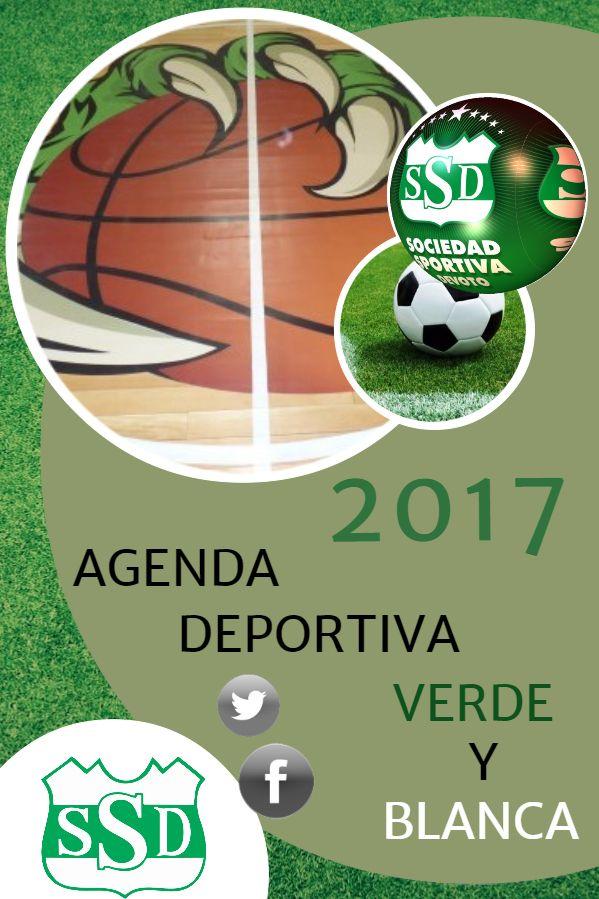 La Agenda Deportiva Verde y Blanca para este fin de semana está disponible en: https://goo.gl/EgwbfR
