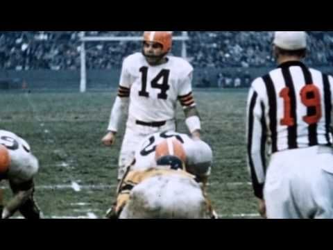 Two Minutes of Pro Football History: Otto Graham's Winning Ways.Otto Graham led the Cleveland #Browns to the championship game in each of his 10 seasons as the team's quarterback.
