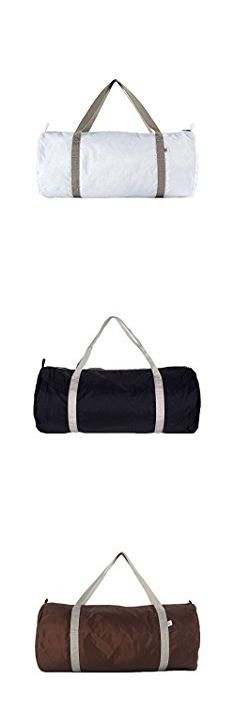 American Apparel Bags. American Apparel Nylon Sports/Gym Holdall Bag (One Size) (White / Silver).  #american #apparel #bags #americanapparel #apparelbags