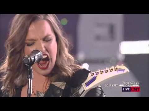 ▶ Eric Church - Thats Damn Rock n Roll ft Lzzy Hale - YouTube WOW!! Never heard of this gal, but I'm impressed and about to find out more!!