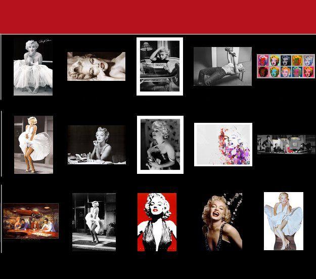 Marilyn Monroe Posters Marilyn Monroe Prints Hollywood Themed Bedroom Wall  Art