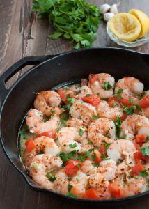 Garlic Baked Shrimp #paleo #glutenfree   www.nutritiouseats.com