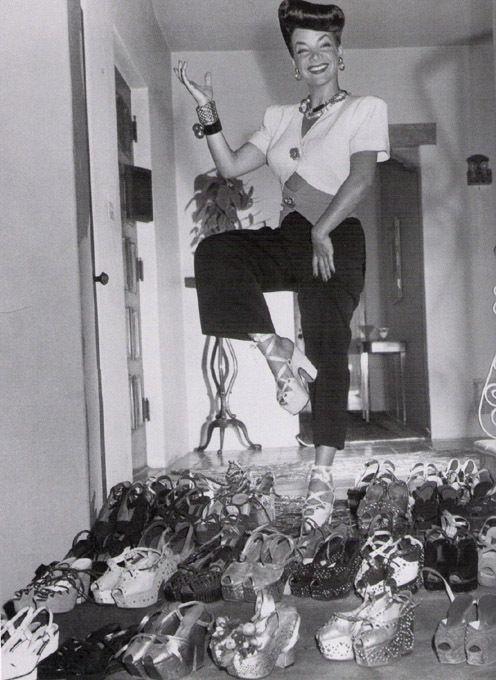 Vintage shoes from Une femme d'un certain age