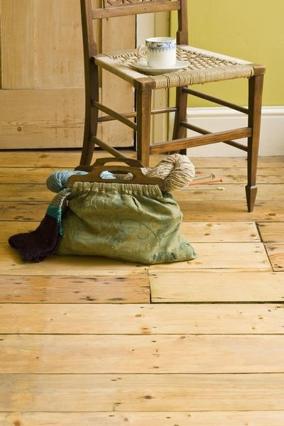 How to Sanitize Unfinished Hardwood Floors. Good to know if we buy an old house to renovate.