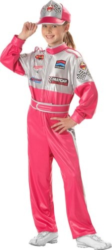 Child's Race Car Driver Girl Costume (Medium « Delay Gifts