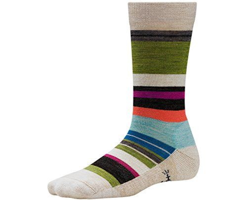 Smartwool Women's Saturnsphere Socks (Natural) Small * For more information, visit image link. #WomensCampingClothing