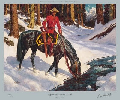 Arnold Friberg's Famous RCMP Paintings