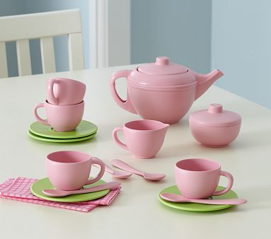 Cute AND Eco-friendly!  Made from recycled milk jugs. From Pottery Barn Kids.
