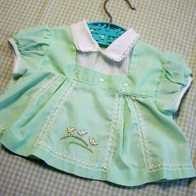 Vintage baby dress, 1960's.