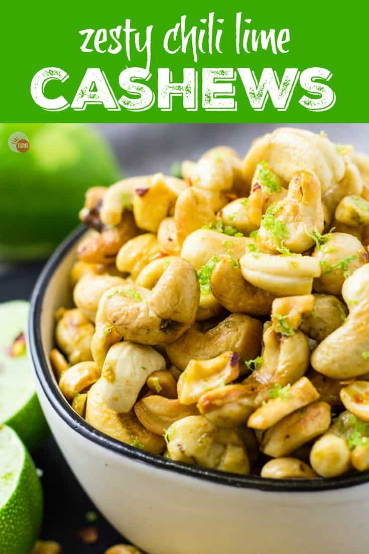 Spice Up Your Snack Nuts With My Chili Lime Cashews Take Two