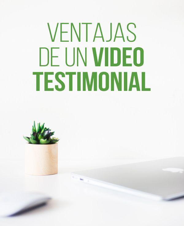 Ventajas de un video testimonial   #Video #Testimonial #Producción   Estrategias para hacer crecer tu negocio,