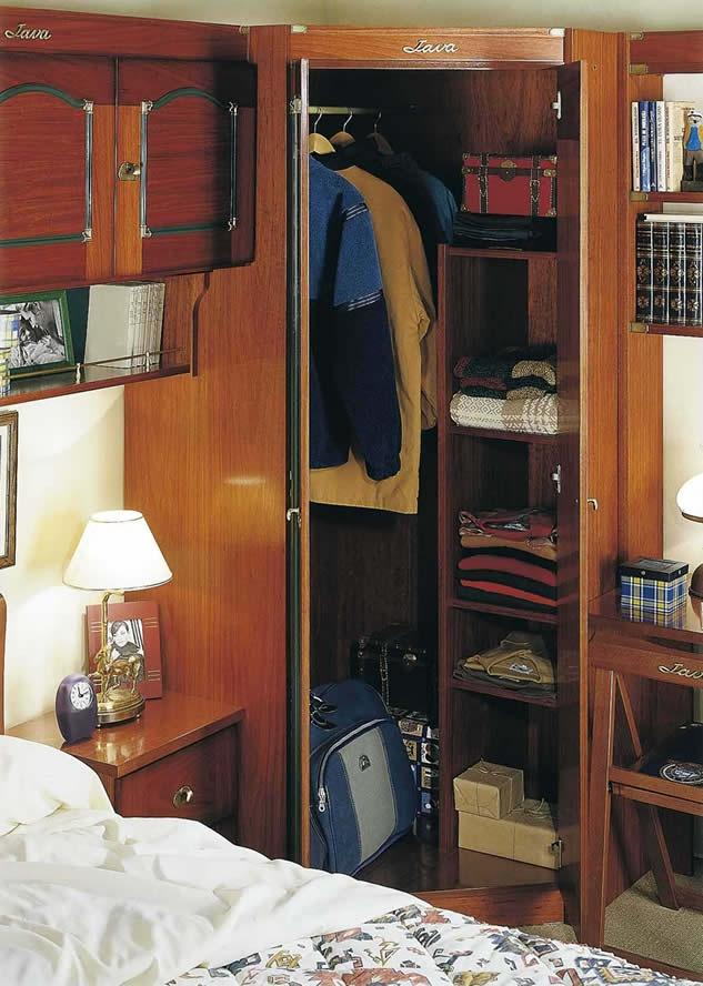 ARMARIO DE RINCON ABIERTO Dormitorio Juvenil Barco Java