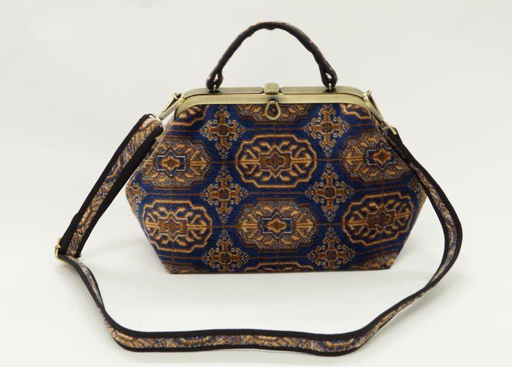 Carpet Bags Classic bag in Blue Chiraz