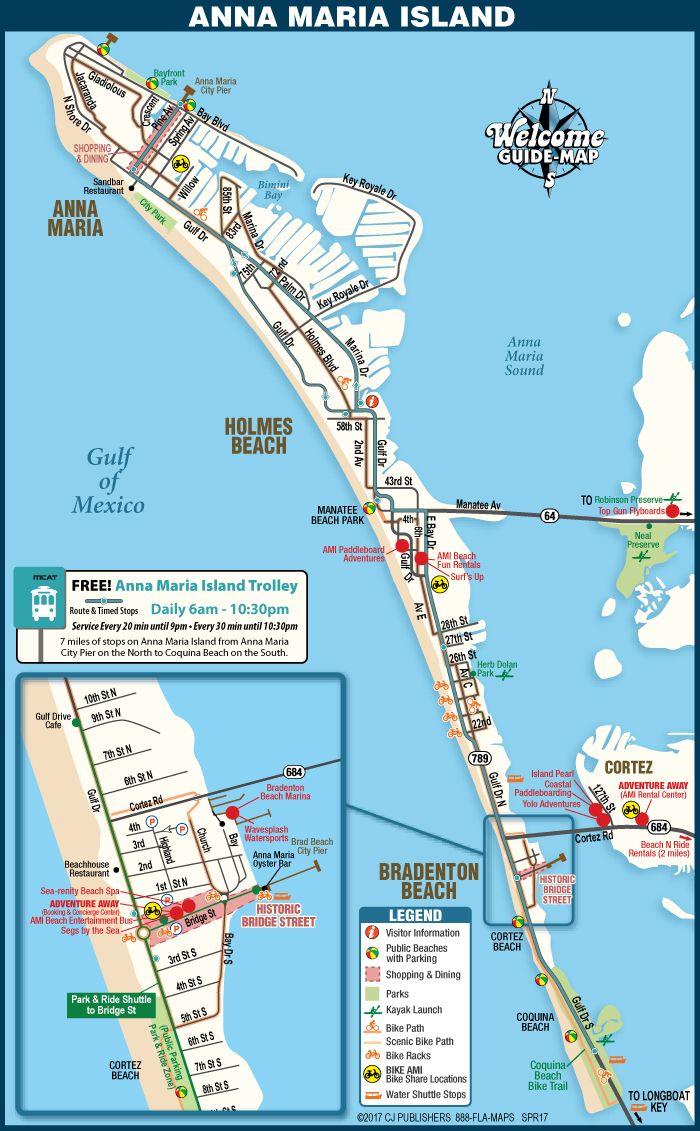 San Maria Island Anna Florida Map Www Imagessure Com
