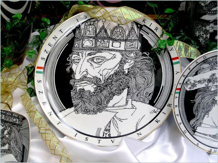 Hungarikumok - Hollóházi porcelán. Hungary