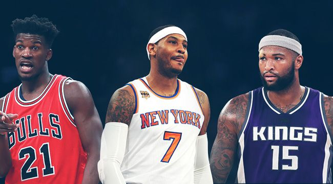 Carmelo Anthony, Jimmy Butler, and John Wall trade rumors have people buzzing about a much busier NBA deadline.