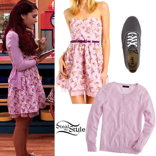 ariana grande steal her style | Ariana Grande: Floral Dress Outfit ...