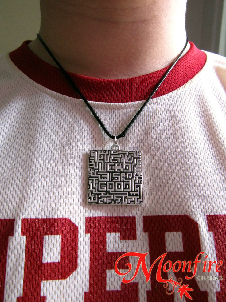 THE MAZE RUNNER WCKD Is Good Maze Necklace