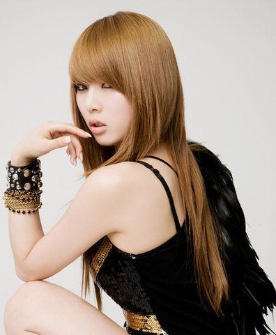 hyuna's hair <3