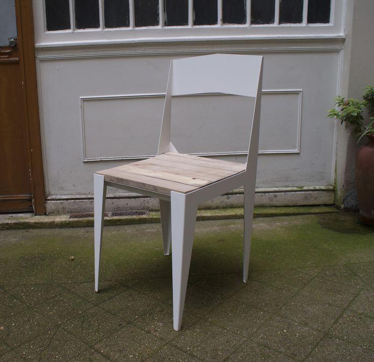 #chaise Bol Oré Pliage Comme Un Origami Et Bois De Hêtre Massif De  Récupération · ChairDesignerSuch ...