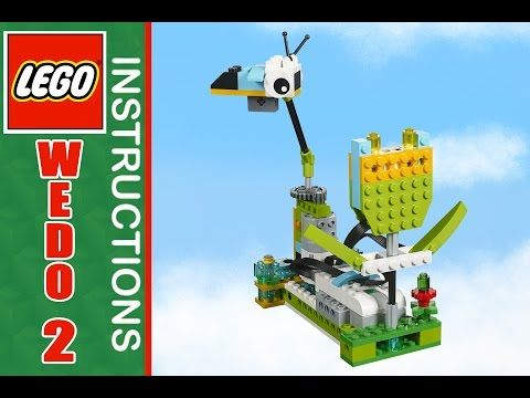 Lego wedo 2 instruction  flower | Лего студия в Броварах BRAVO| Лего бровары - YouTube