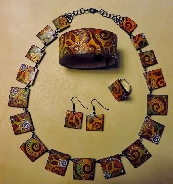 Beautiful handmade leather jewerlies