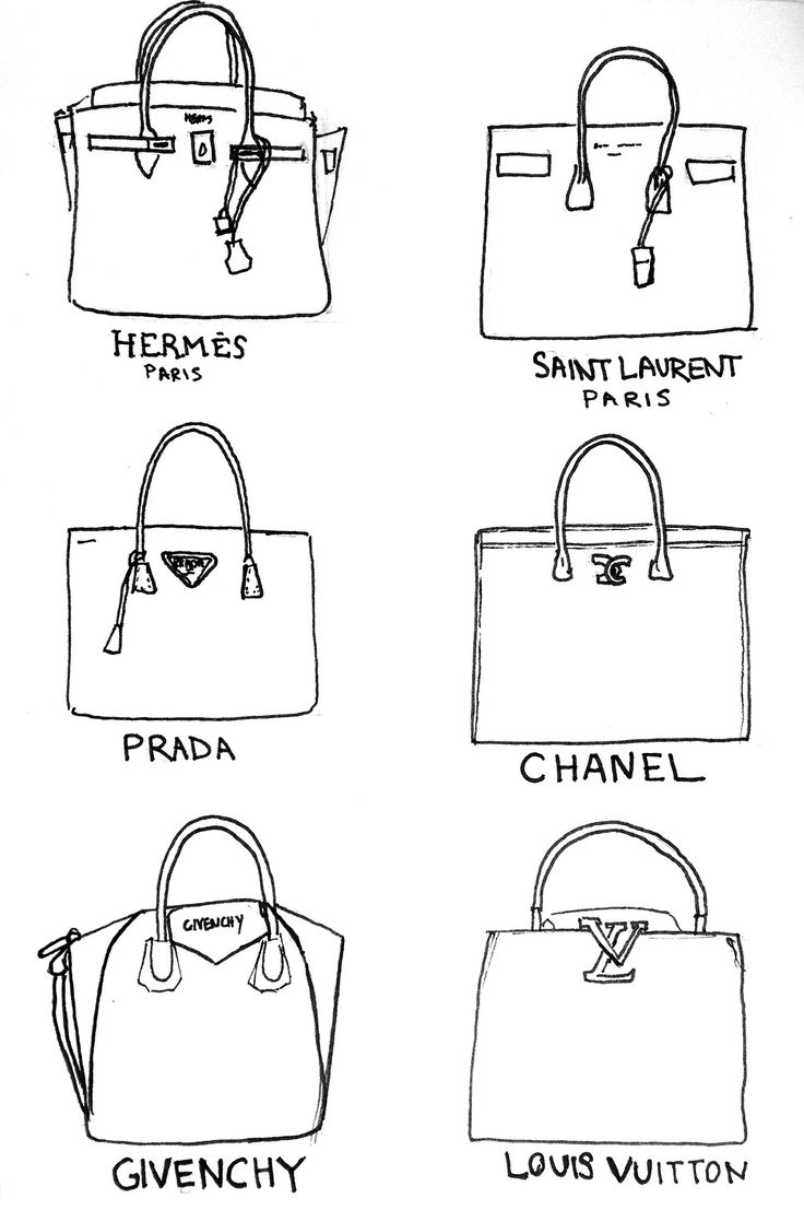 Hermes // Saint Laurent // Prada // Chanel // Givenchy // Louis Vuitton //