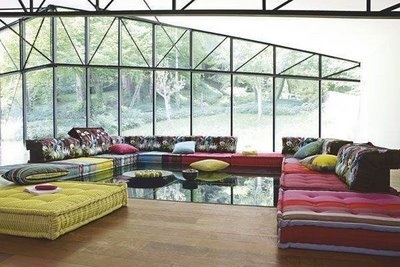 1000 images about roche bobois on pinterest for the pink and blog - Canape roche bobois kenzo ...
