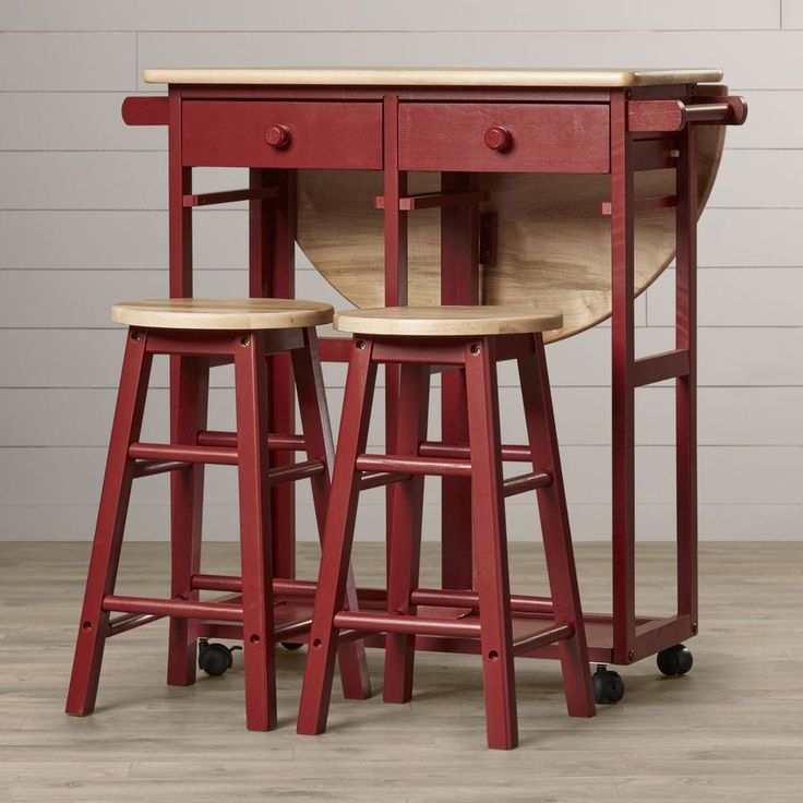 Kitchen Table With Chairs On Wheels: 1000+ Ideas About Kitchen Island Stools On Pinterest