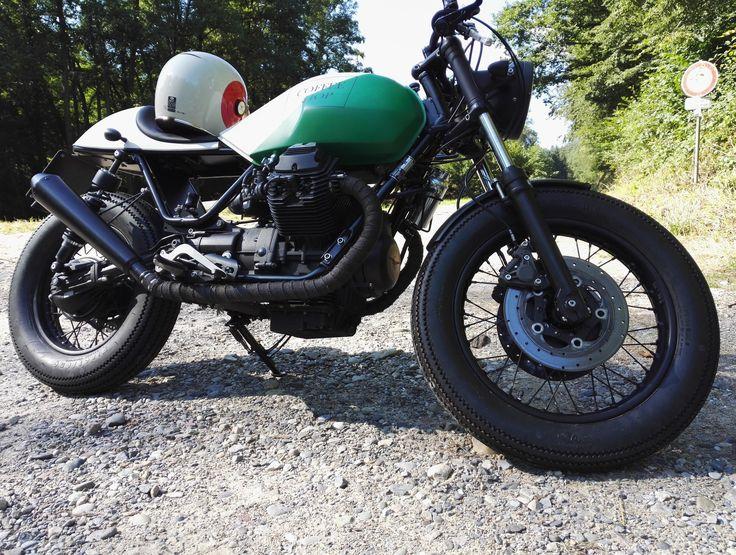 Moto Guzzi V65 Coffee Shop