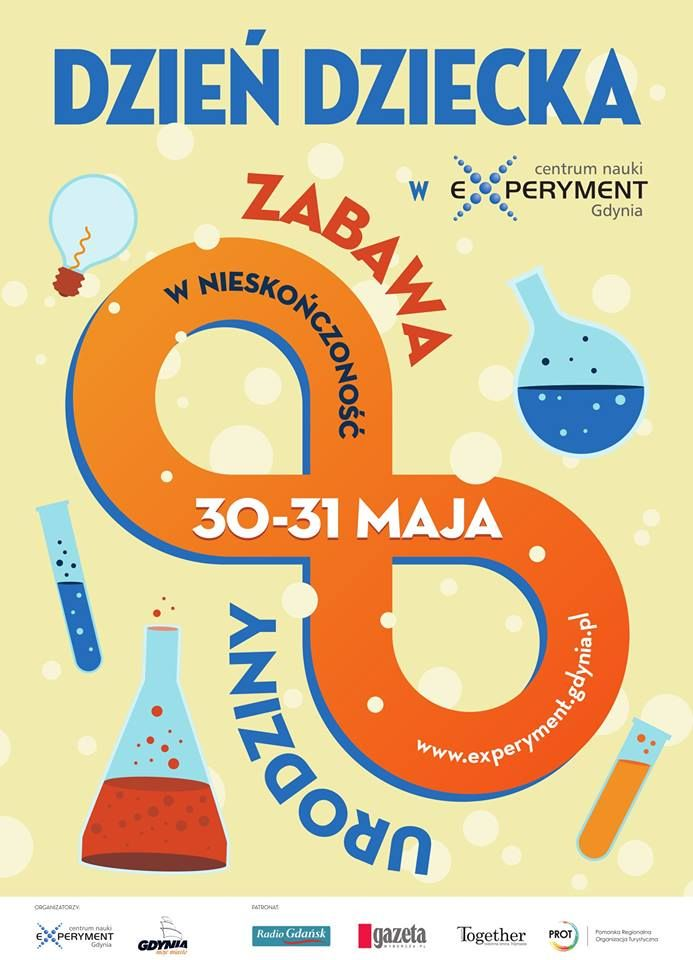 Children's day tomorrow and you're out of ideas of how to spend this special day? Look no further! Science Park EXPERYMENT in Gdynia has its 8th birthday and you can expect lots of scientific and fascinating attractions :) Transfers to Gdynia are available at http://gdyniashuttle.com