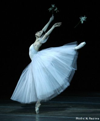 Giselle, The Ballet. I watched this when I was twelve in Houston, Tx. one of my favoritie memories.