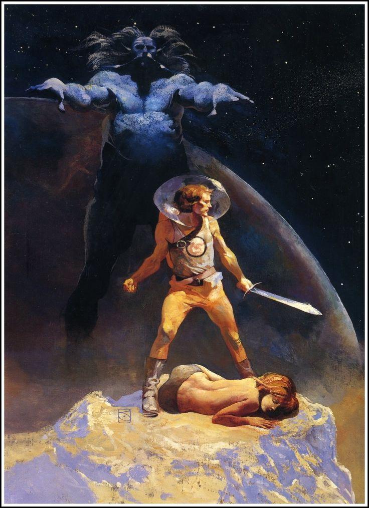 1973 Jeffrey Jones Illustration Art