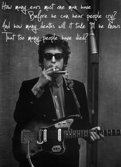 "Bob Dylan - ""Blowin In The Wind"""