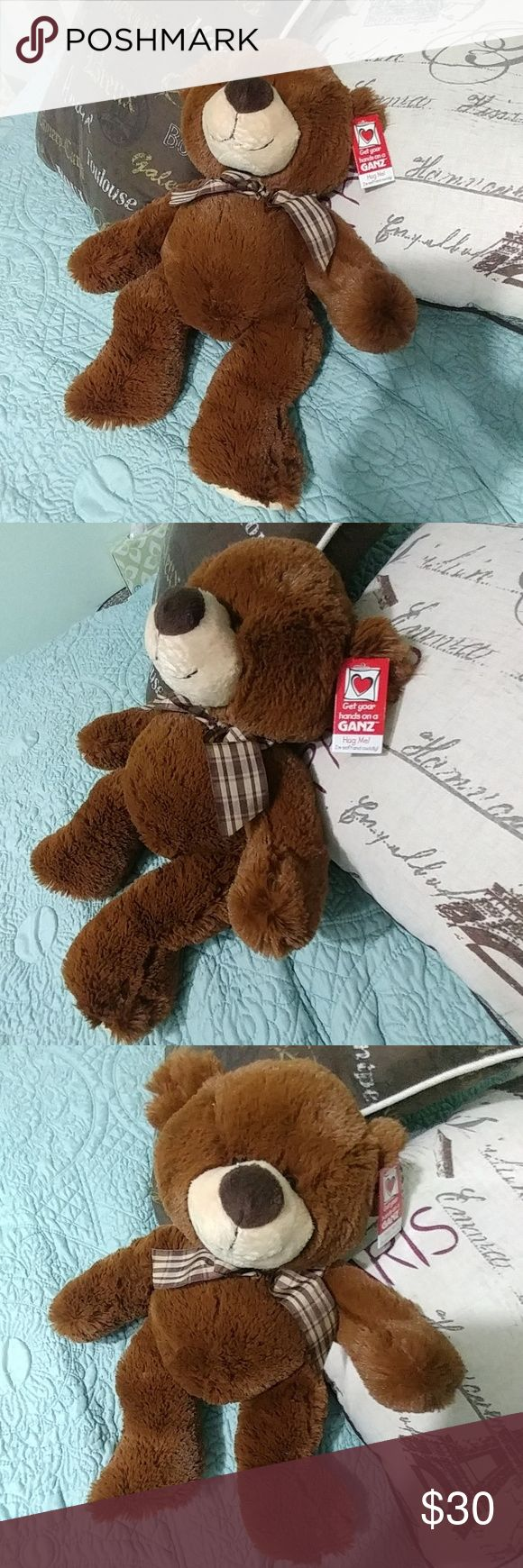 "18"" extra plush brown teddy bear with tags New with tags. Is the softest teddy bear I've personally felt. Extra plush and soft! Other"