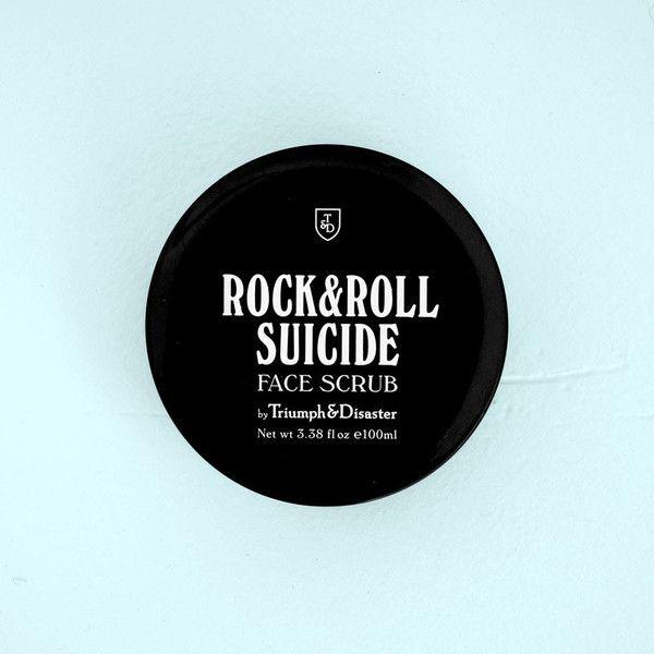 Nettoyant exfoliant pour le visage Rock & Roll Suicide de Triumph & Disaster